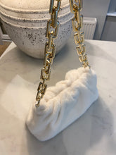 Load image into Gallery viewer, Faux Fur Pouch Chain Bag