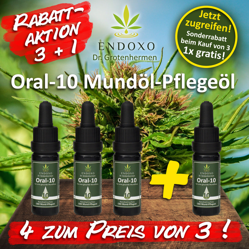 Aktion 3+1 ENDOXO Oral 10