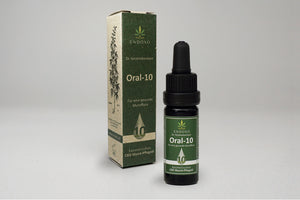 Oral-10, 10 ml Cosmetic mouth care oil with 10% CBD