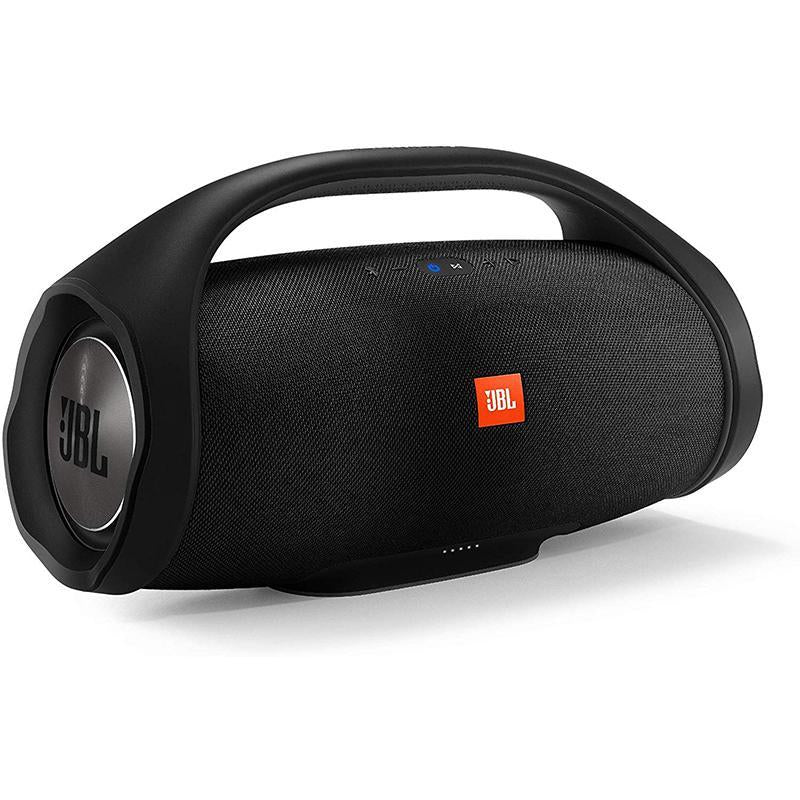 JBL Boombox Bluetooth Party Speaker (Black, Stereo Channel) - Certified Refurbished