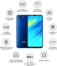 Load image into Gallery viewer, Realme 2 Pro (Blue Ocean, 64 GB)  (6 GB RAM) (Certified Refurbished )