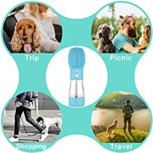 DogBottlePro All-In-One Water & Food Dispenser - WoofAddict