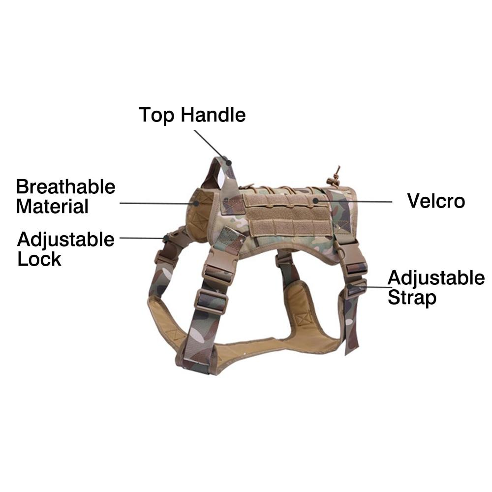 DogHarnessPro No-Choke Tactical Dog Harness - WoofAddict