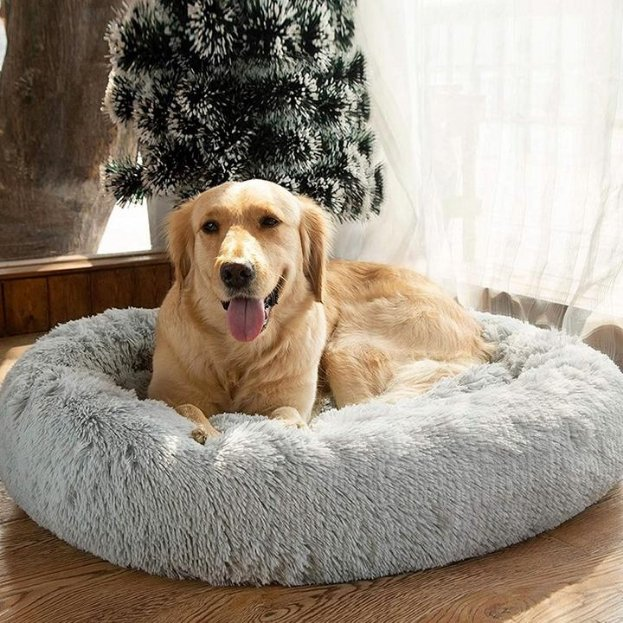 DogSleepPro™ Anti-Anxiety Calming Dog Bed - WoofAddict