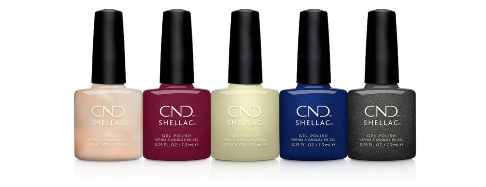 Metallic CND Shellac Gel Nail Polish with lots of colour choices, Manicure, Pedicure, Bristol