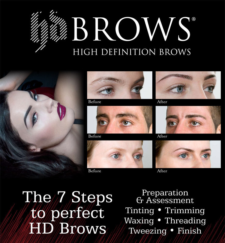7 steps to perfect high definition brows