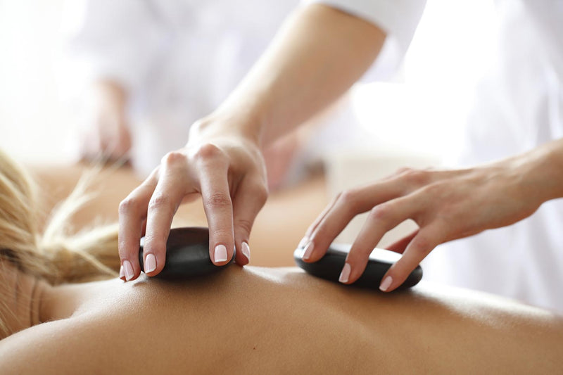 hollistic effect and power of hot stone massage