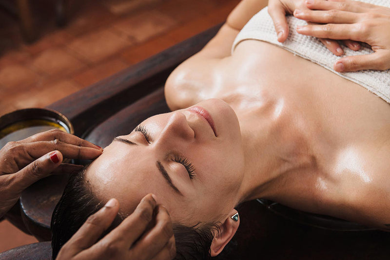 the effectiveness and healing of a indian head massage i