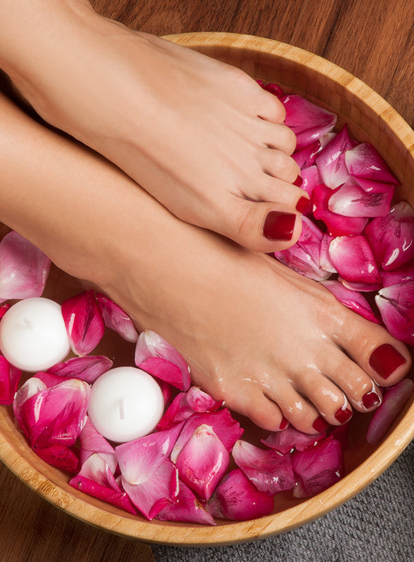 Pedicure for men and women, shellac, gel polish, professional pedicure here at The Treatment Rooms