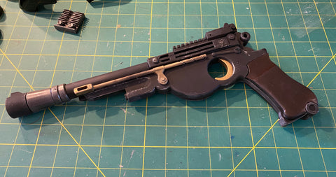 Mandalorian Blaster with working trigger