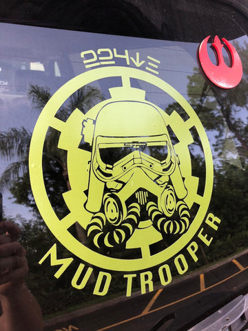 "Mudtrooper 10"" Decal"