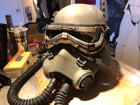 Complete Mud Trooper finished helmet