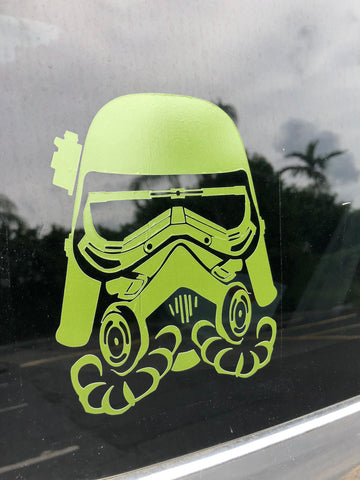 "Mudtrooper 5"" Decal"