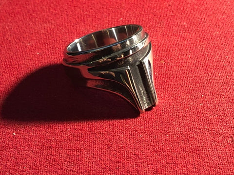 Mandolorian Ring - Stainless Steel