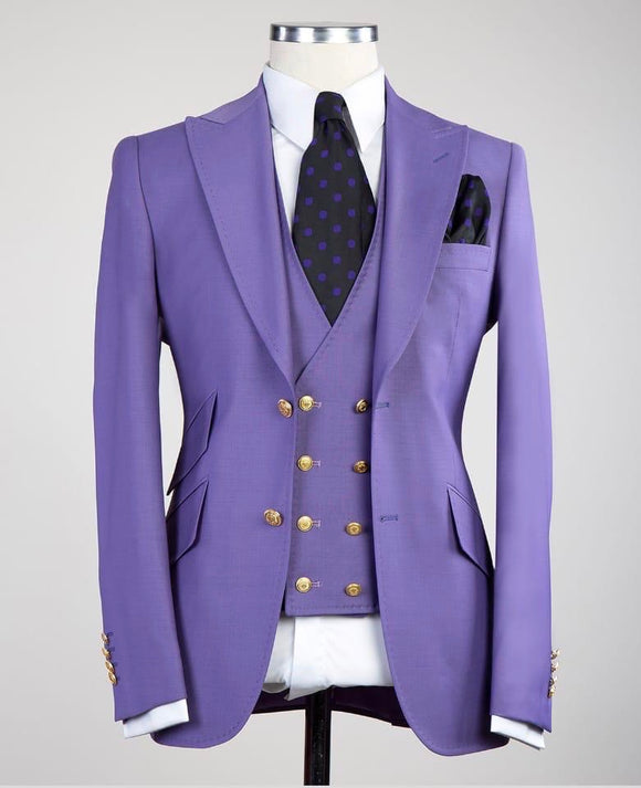 Solid 3 piece (Purple)