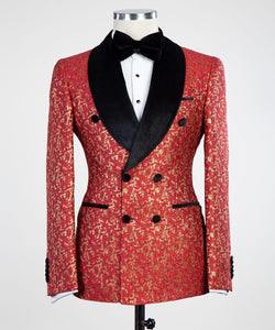 Premium Tux (Double breasted) Red