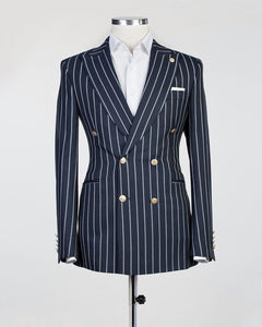 Bold Striped (Navy)