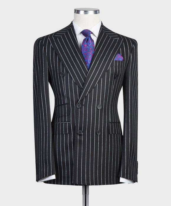 DB - Black Pinstriped