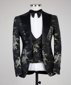 The Bold Tux (Pewter)