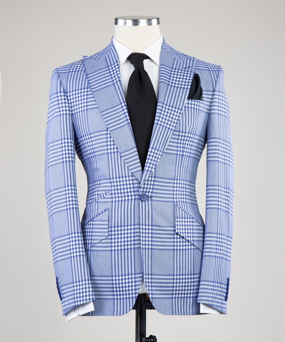 Prince of Check (Blue/Wht)