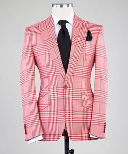 Prince of Check (Red/Wht))