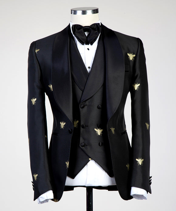 Luxe Tux (Black/Gold)
