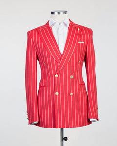 Bold Striped (Red)