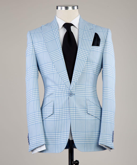Prince of Check (Light Blue)