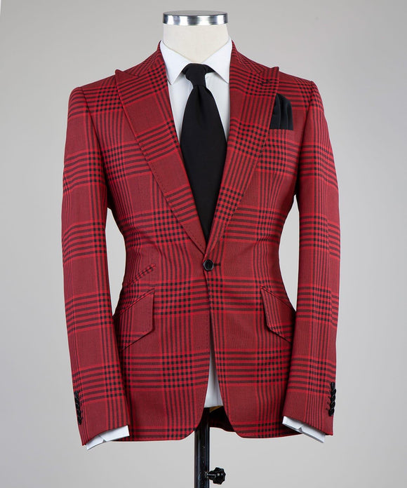 Prince of Check (Red)