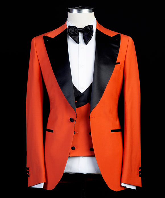 The Bold Tux (Fire Orange)
