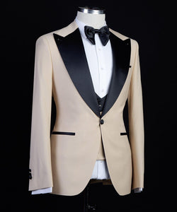 The Bold Tux (Soft Yellow)