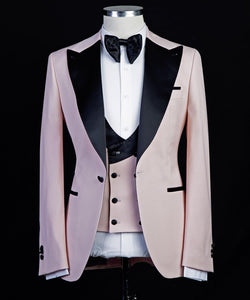 The Bold Tux (Soft Pink)