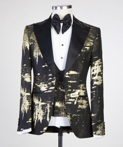 The Bold Tux (New Blk / Gld)