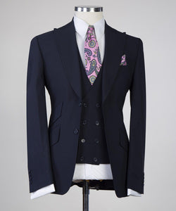 Business Suit - 2 (Navy)