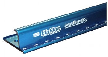 Big Blue Safety Ruler