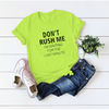 Solid Color Women short-sleeved T-shirt
