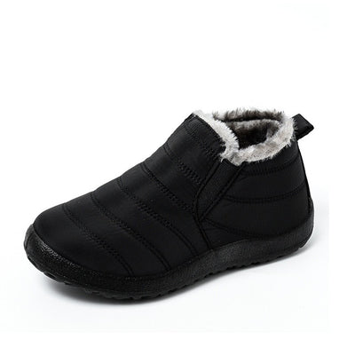 Warm Plush Fur Ankle Shoes For Women