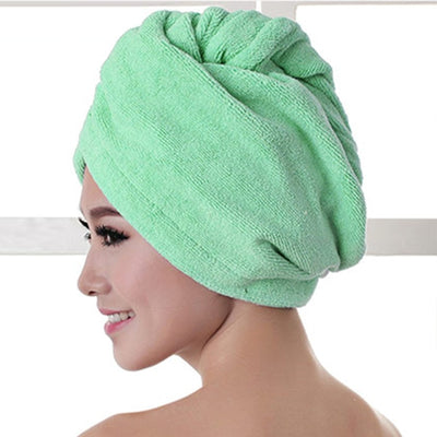 Microfibre After Shower Quick Hair Drying Wrap