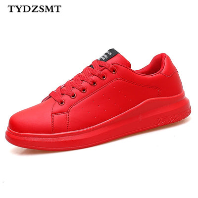 Couple Lace-up Red Basket Shoes For Women