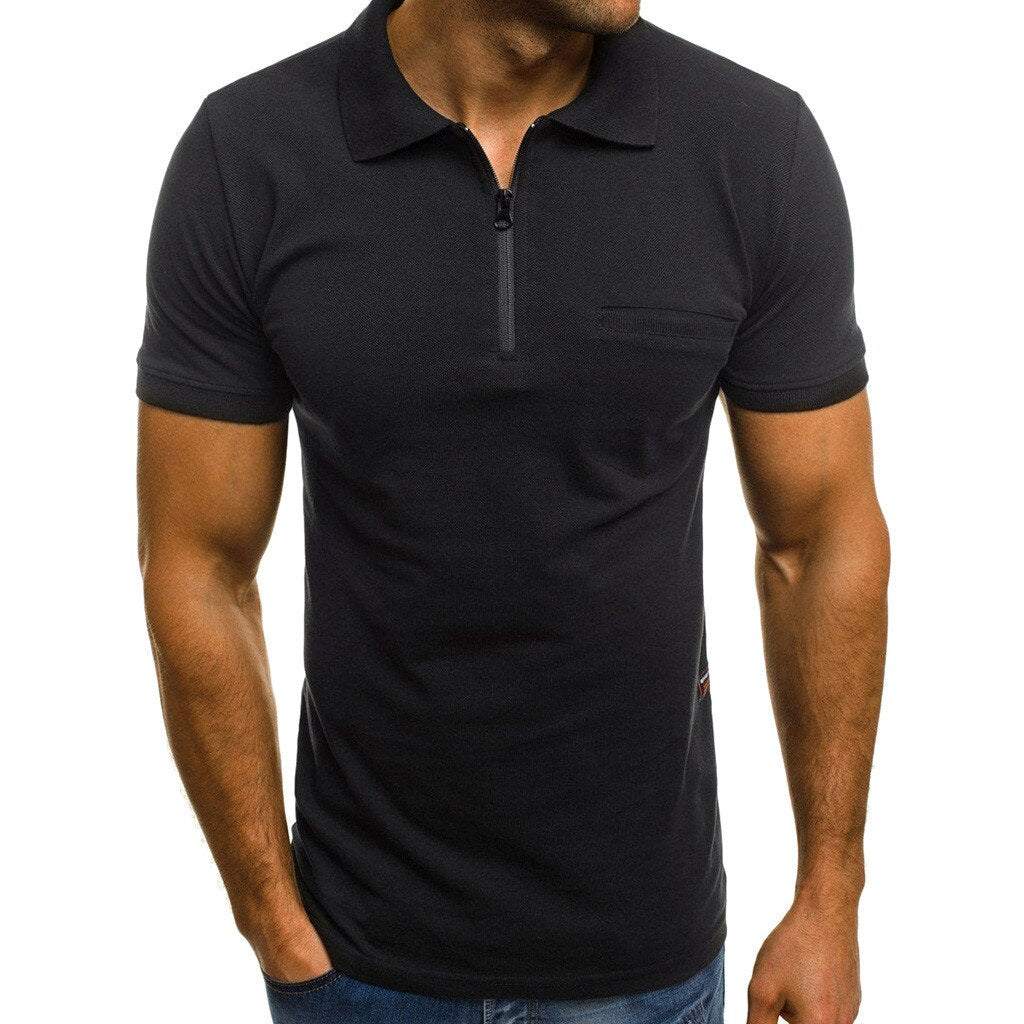 Top Quality Cotton Slim Short Sleeve Men T Shirt