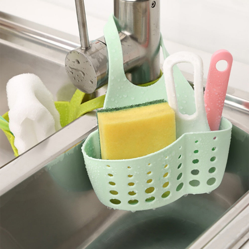 Sink Holder for Soap Sponge Drain