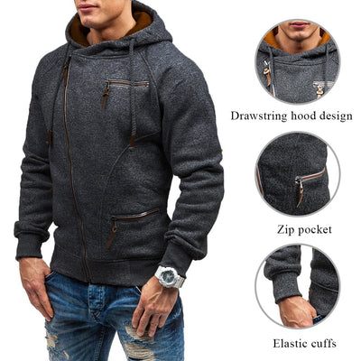 Side Zipper Hoodies