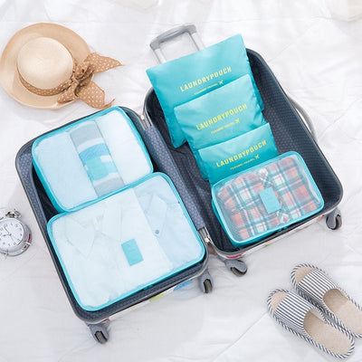 LIYIMENG 6Pcs/Set Luggage Organizer