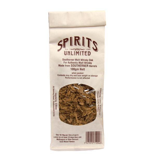 Spirits Unlimited Southerner Malt Whisky Oak Chips