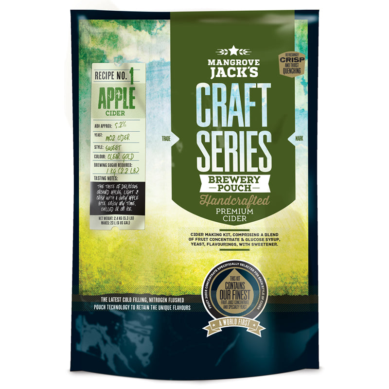 Mangrove Jack Apple Cider Pouch
