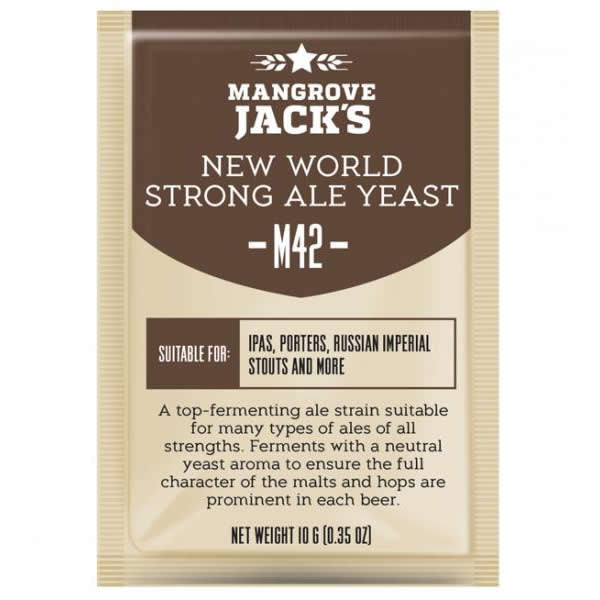 Mangrove Jack Yeast - M42 - New World Strong Ale