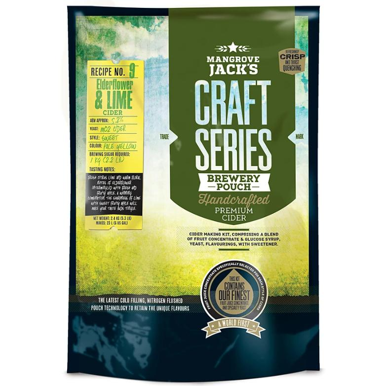 Mangrove Jack Elderflower & Lime Cider Pouch