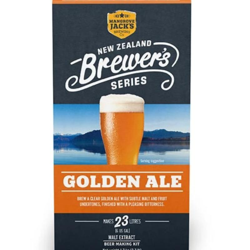 Mangrove Jack's New Zealand Brewers Series Golden Ale