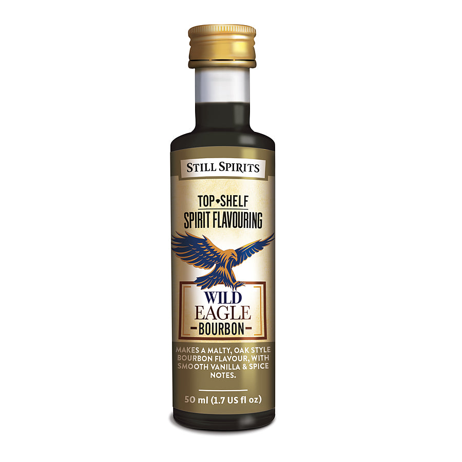 Top Shelf Wild Eagle Bourbon