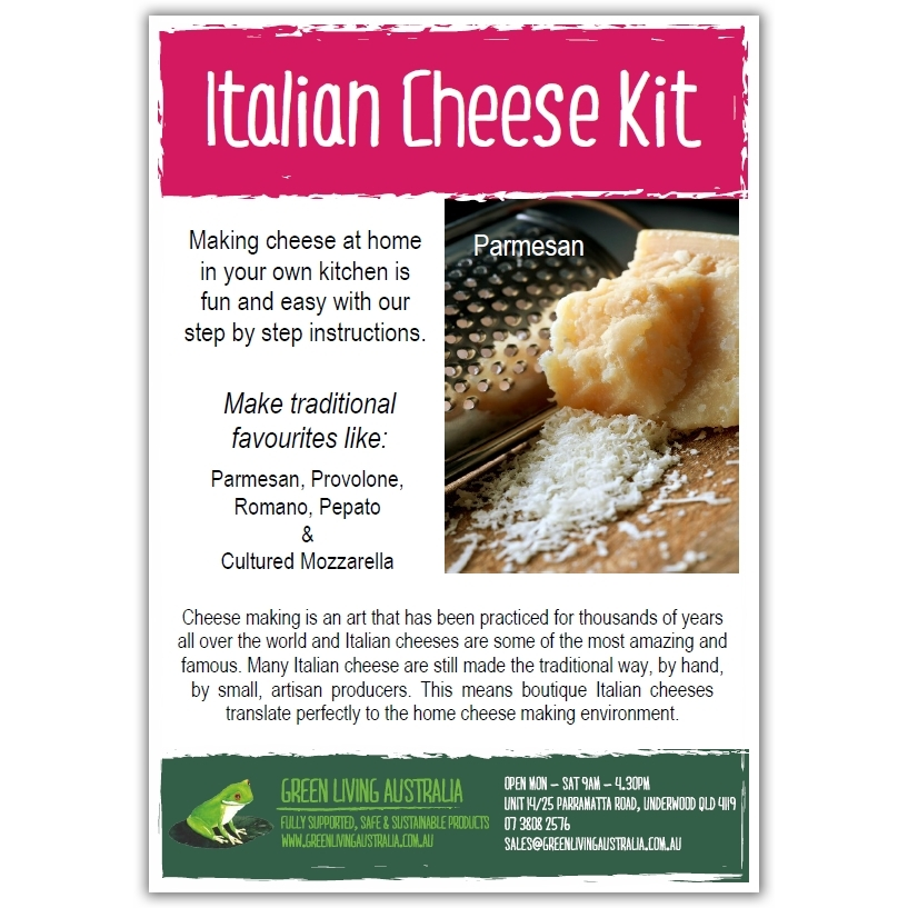 Green Living Italian Cheese Kit